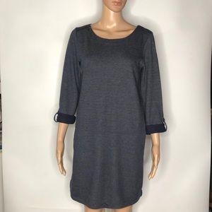 Ann Taylor Loft Roll tab Jersey Dress Size Small
